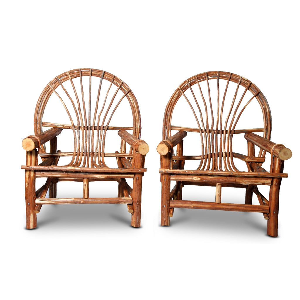Pair Cypress Porch Chairs
