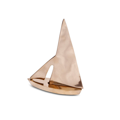 Small Brass Sailboat