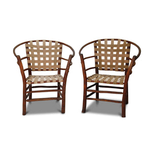 Vintage Adirondack Arm Chairs