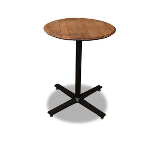 whiskey barrel top pub table