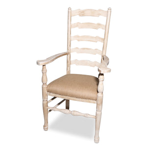 Decorator French Country Deconstructed Arm Chair