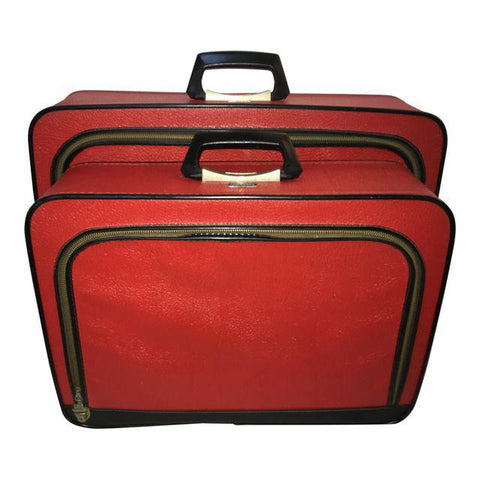 Vintage Supre-Macy Luggage Set, 2 Pcs.