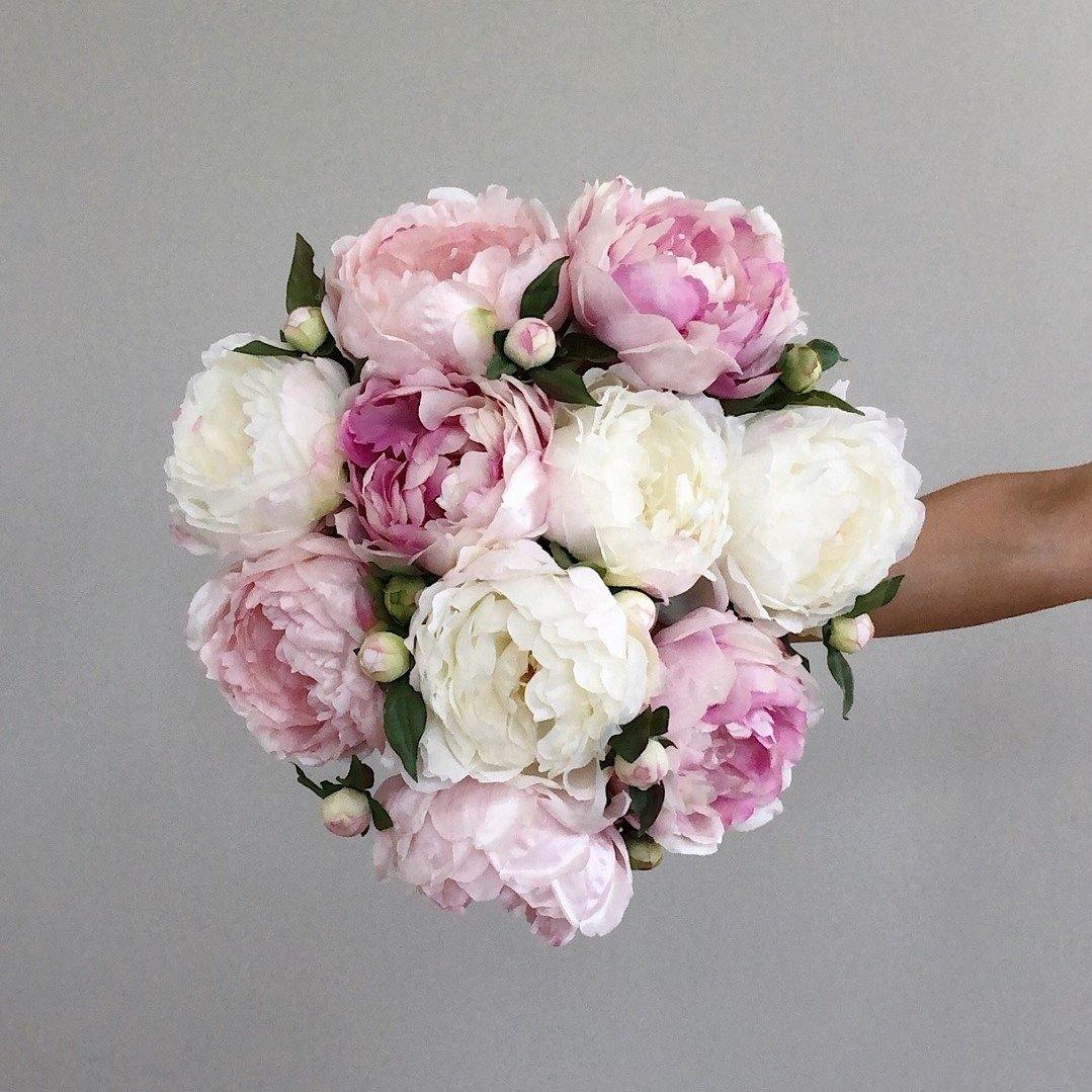 Simply Sublime Artificial Peony Bouquet