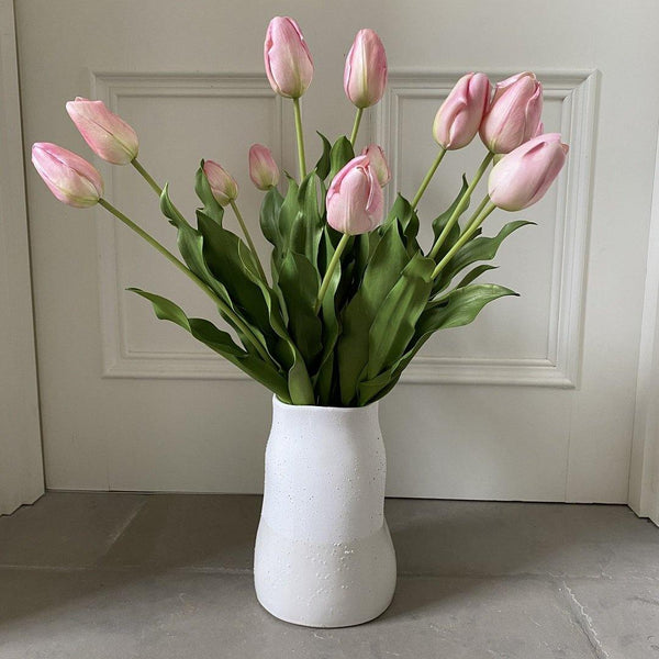 Perfectly Pink Artificial Tulips