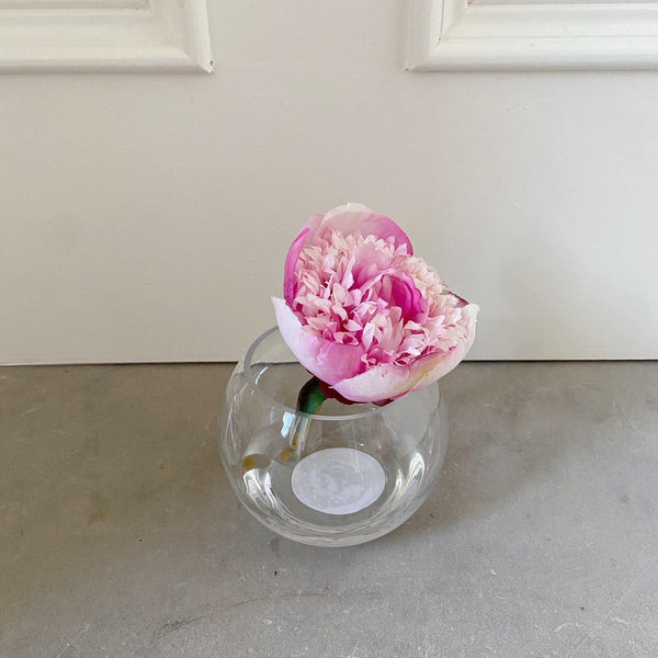 Just Dotie Pink faux flower in a vase