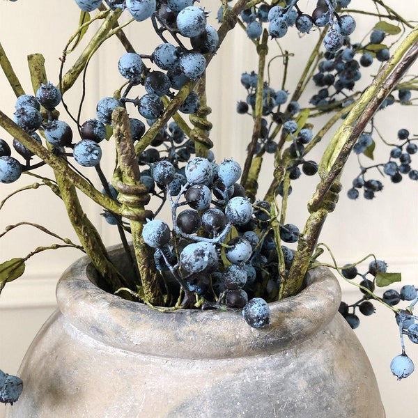 Beautiful Blueberry Spray - The Irish Country Home