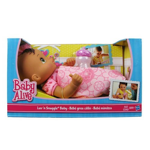 Baby Alive Luv N Snuggle Baby Doll Brune Decalify