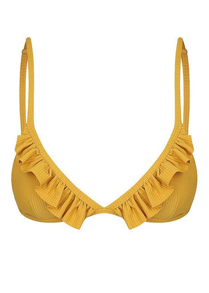 Yayoi Ruffled Triangle Top Swimwear Mimi Kini