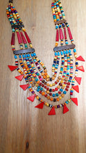 Load image into Gallery viewer, Large statement Beaded Necklace