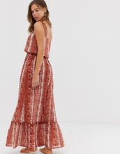 Load image into Gallery viewer, Snake Print Maxi Dress
