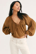 Load image into Gallery viewer, Free People Banda Blouse
