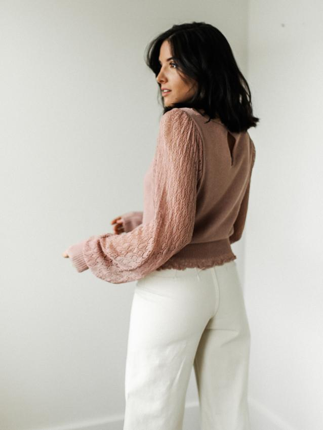 Free People Crystallized Sweater