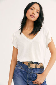 Free People Effortless Tee
