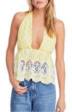 Load image into Gallery viewer, Free People Lunch Date Halter Top