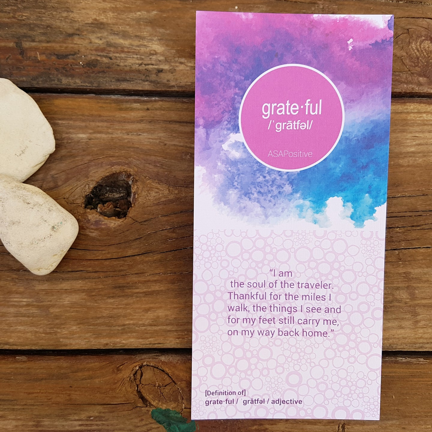 I am grateful affirmation letter