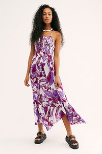 Free People Heat Wave Printed Maxi Dress