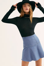 Load image into Gallery viewer, Free People Highlands Denim Skirt