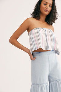 Free People Stargazing Tiered Pants