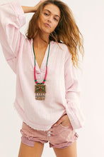 Load image into Gallery viewer, Free People Anguilla Washed Pullover