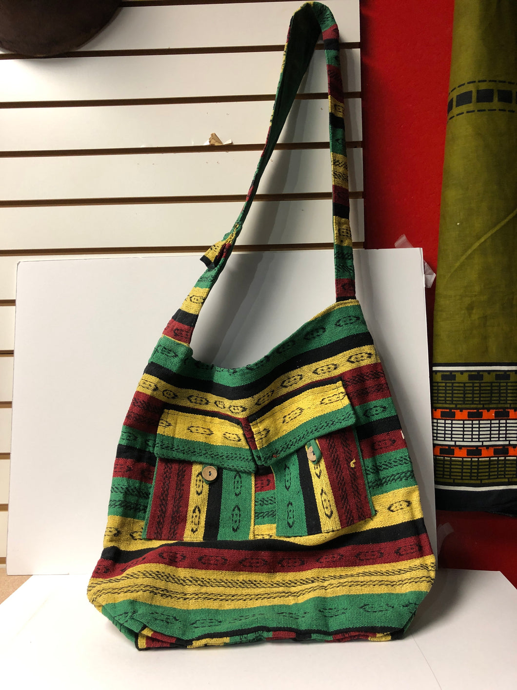 Rasta Cross Over Cloth Bag