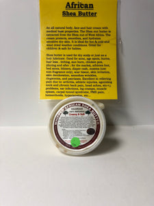 Shea Butter From Ghana 16oz