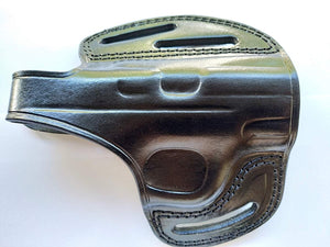 Cal38 | Leather owb belt Holster for Smith and Wesson MP9 Shield