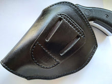 Load image into Gallery viewer, Cal38 Leather Two Position Belt Holster for Smith and Wesson 38 special Snub Nose