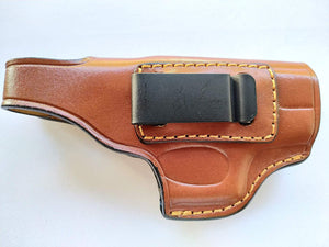 Cal38 | Leather iwb Holster for Glock 43