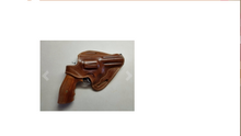 "Load image into Gallery viewer, Handcrafted Leather Belt Holster for Taurus Tracker 44 Magnum 4"" Barrel"