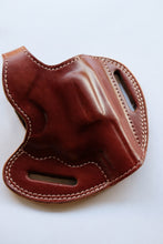 Load image into Gallery viewer, Cal38 | Leather Belt owb Holster For Smith and Wesson Model 10 Snub Nose 38 Special