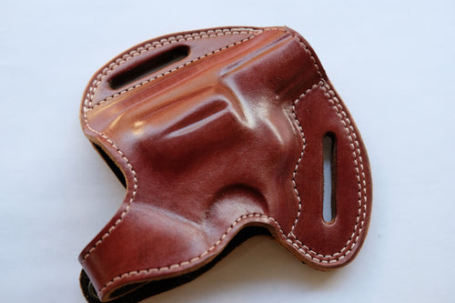 Cal38 | Leather Belt owb Holster for Rock Island Armory M206 38 Special