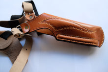Load image into Gallery viewer, Leather Vertical Shoulder Holster for Colt 1911