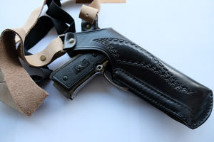 Leather Vertical Shoulder Holster for Colt 1911