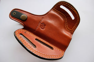 Ruger LC9 Leather Belt owb Holster