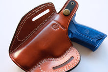 Load image into Gallery viewer, Handcrafted Leather Belt owb Holster For Ruger Security 9 (R.H)