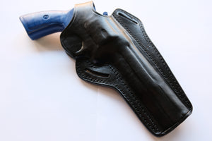 "Cal38 Leather Belt owb Holster for Colt Python 357 Mag 6"" Barrel"