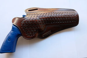Basket Weave Holster For Ruger GP100 357 Magnum 6 inch