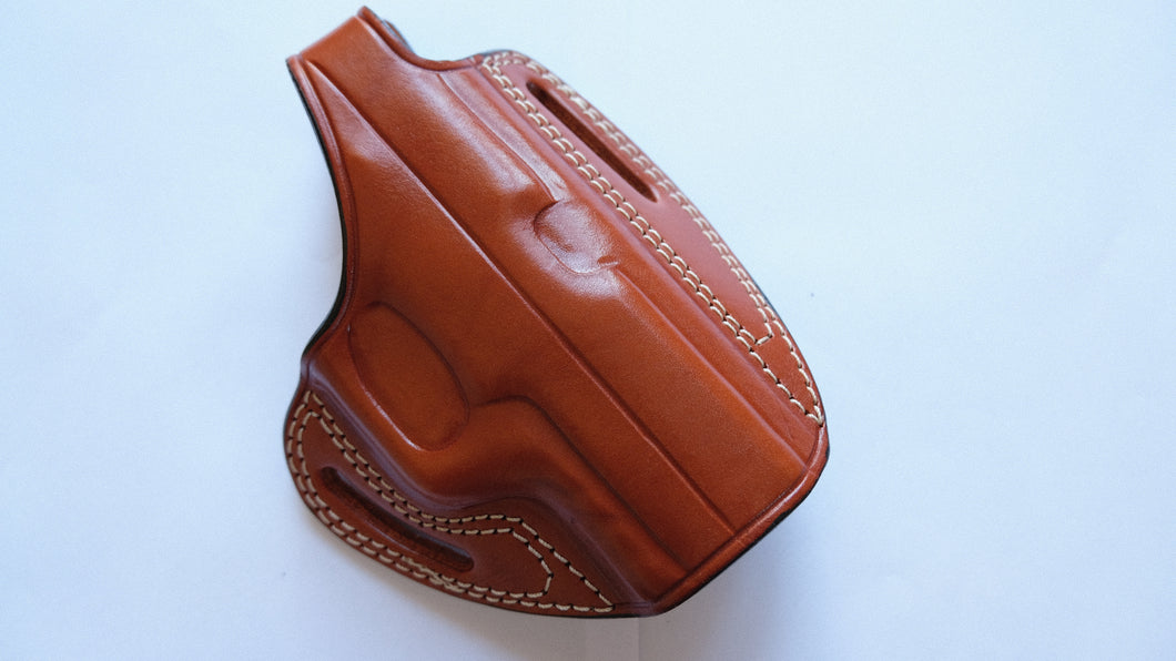 Leather OWB Holster For Sig Sauer P320 Cary