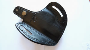 Ruger SR9c Leather Belt Holster