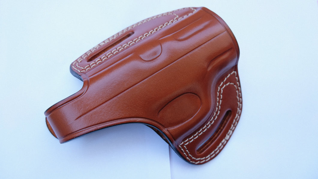 Leather Custom owb Belt Holster For Taurus PT-111 Millennium G2
