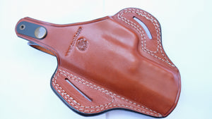 Cal38 Leather Belt owb Holster For FN Five-seven