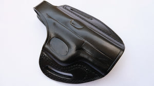 Cal38 Leather Belt owb Holster For FN 509