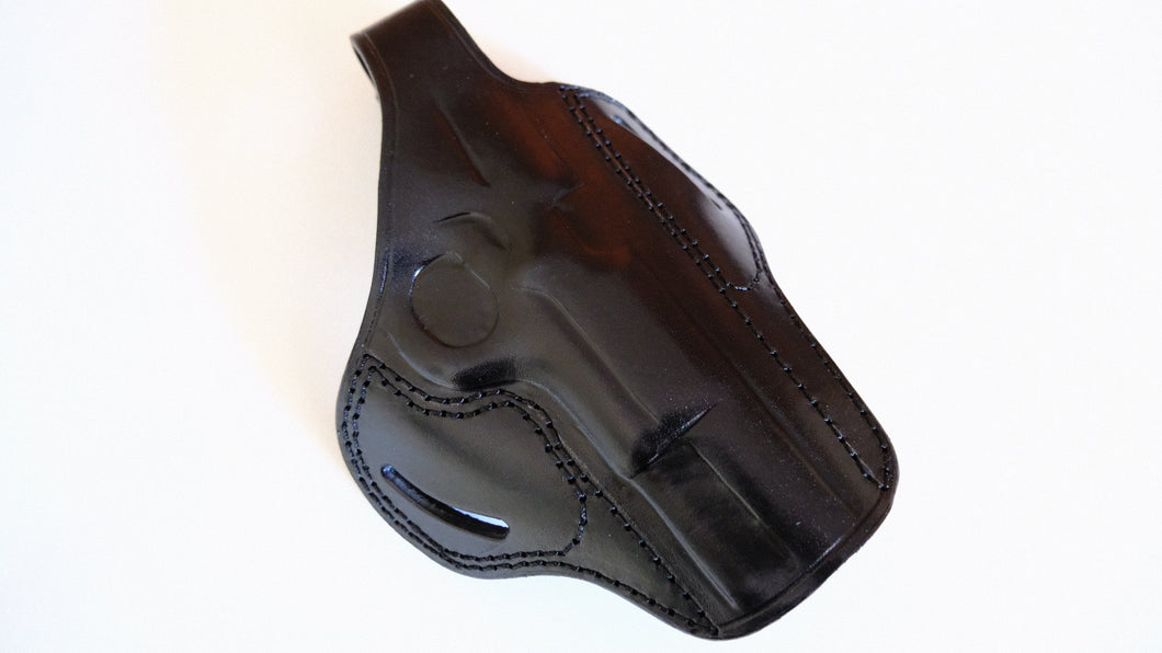 Cal38 Leather Handcrafted Belt owb Holster for Browning Hi-Power