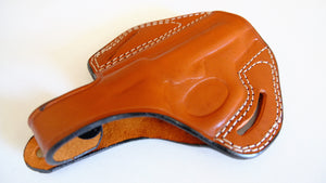 Cal38 Leather Handcrafted Belt Holster For Beretta Model 84