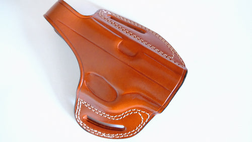 OWB Leather Holster For Walther PPS M2 I Cal38 Laether