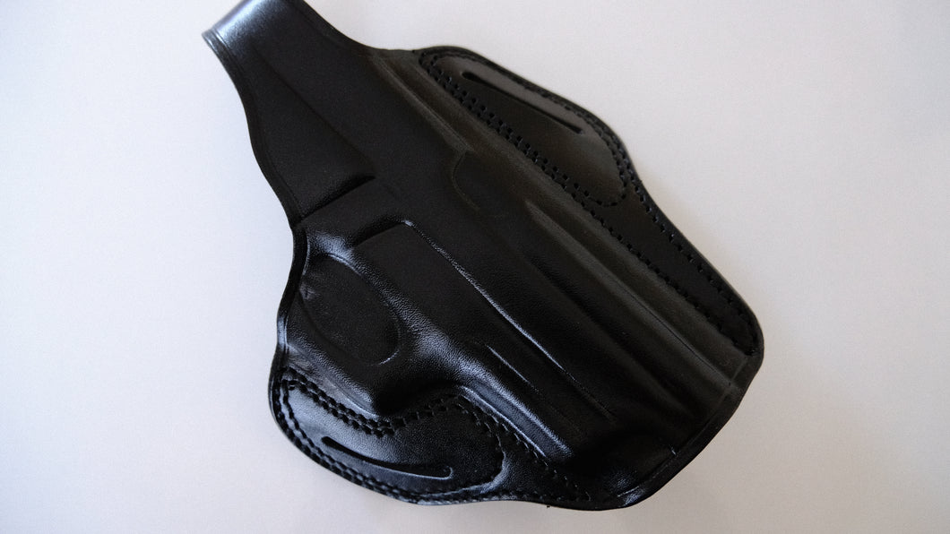Cal38 Leather OWB Belt Leather Holster For Sig Sauer P226