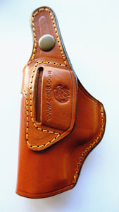 Cal38 Leather I Handcrafted iwb Holster for Kimber Micro 9