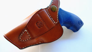 Cal38 Leather iwb Holster For Taurus Model 85 .38 Special Ultra-Lite