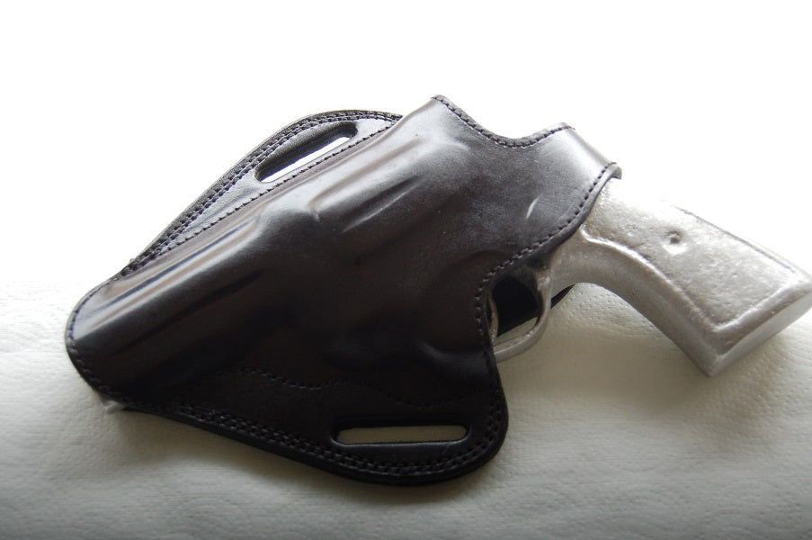 Cal38 Leather owb belt Holster For Colt King Cobra 357 Magnum 4