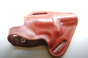 Cal38 | Leather Belt owb Holster For Taurus 38 special 3 barrel